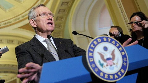 ap harry reid ll 130319 wblog Senate Democrats Drop Assault Weapons Ban from Gun Bill