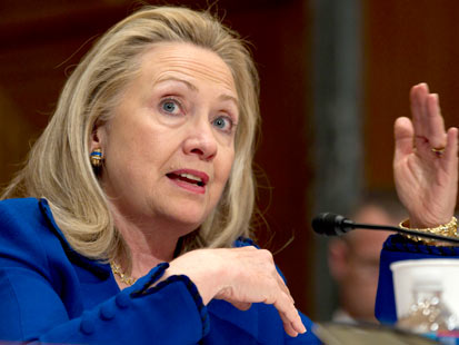 ap hillary clinton jef 120228 main State Dept Budget Gets Pushback in Senate