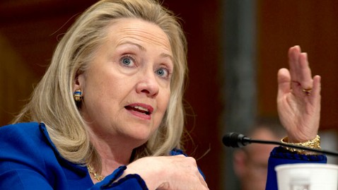 ap hillary clinton jef 120228 wblog US Official: Egypt Lifts Travel Ban on US NGO Workers