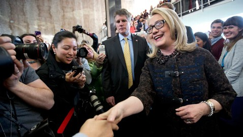 ap hillary clinton mi 130201 wblog Hillary Clinton Out of Political Life...But Still in Public Eye