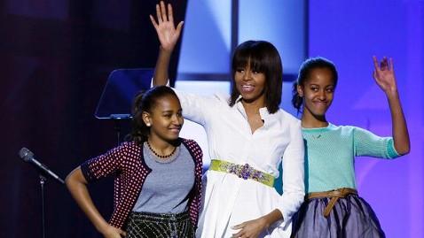 ap inaugural kids sasha malia obama sswm jt 130120 wblog Youth and Kids Balls Kick Off Inauguration Festivities