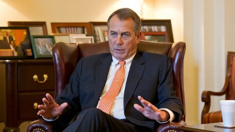 ap john boehner budget lpl 130219 wblog Republicans Dont Budge After Obama Shames Congress on TV