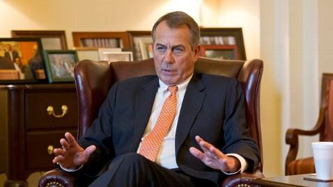 ap john boehner budget lpl 130219 wblog Republicans Dont Budge After Obama Shames Congress on TV