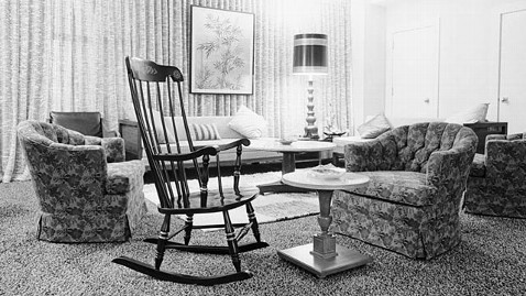ap john f kennedy houston rice hotel rocking chair ll 111117 wblog John F. Kennedys Last Rocking Chair Up for Auction