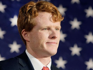 PHOTO: Joseph P. Kennedy III attends a campaign event for the senate candidacy of Martha Coakley in Medford, Mass., Jan. 7, 2010.