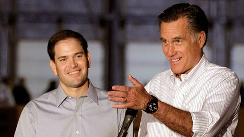 ap marco rubio romney jp 120622 wblog Romney to Rubio on VP Pick: Youre Going to Be Excited