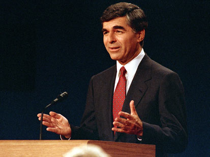 ap michael dukakis jef 111110 main Great Debate Gaffes: From Nixon to Ford to Jan Brewer, Rick Perrys Oops Moment Not the First