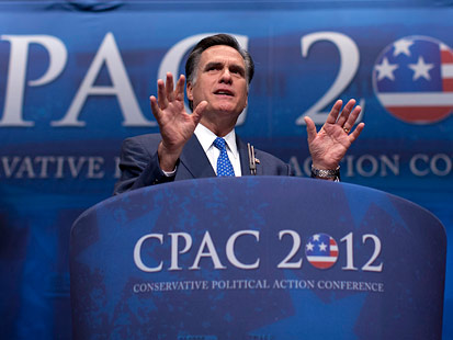 ap mitt romney cpac jt 120210 main Romney Draws Big Cheers at Conservative Conference