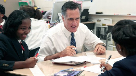 ap mitt romney dm 120524 wblog Romney Challenged on How Much Class Size Matters