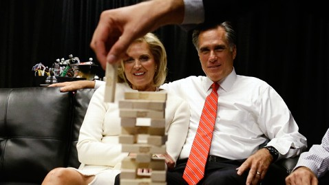 ap mitt romney jenga nt 121003 wblog The Romneys Play Jenga: Mitts Debate Prep in Photos