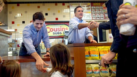 ap mitt romney paul Ryan sub sandwich thg 120403 wblog Why Mitt Picked Paul? Ryan and Romney Get Along