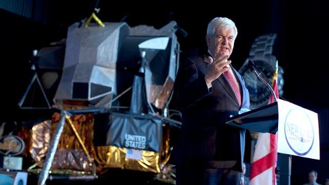 ap newt gingrich jef 120306 wblog Newt Gingrich Campaigns in Outer Space on Super Tuesday