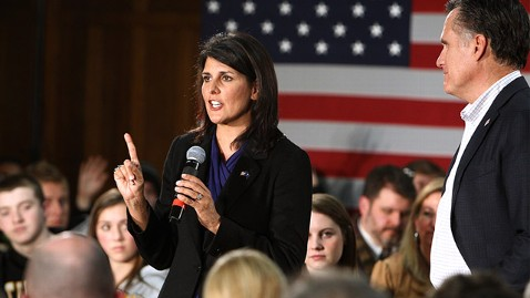 ap nikki haley ll 120402 wblog Gov. Nikki Haley: Hard To See How Obama Wins in November