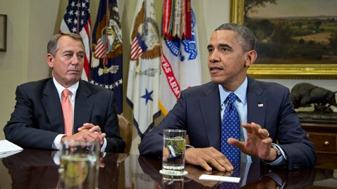 ap obama boehner fiscal cliff nt 121130 wblog Deficit Tops Publics Priorities