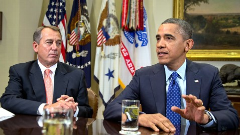 ap obama boehner nt 121231 wblog President Obama to Meet Congressional Leaders Friday