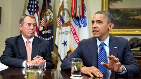 ap obama boehner nt 121231 wblog President Obama to Meet Congressional Leaders Friday