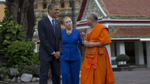ap obama clinton thailand lt 121118 wblog Obama Asks for Prayer on Budget Deal