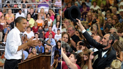ap obama lincoln impersonator nt 120710 wblog Obama Calls for Tax Hike With Homeboy Abe in Crowd