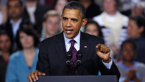 ap obama nh tk 111129 wblog Unfavorable Views of Obama Reach a High, Although Gingrich Trails in Popularity
