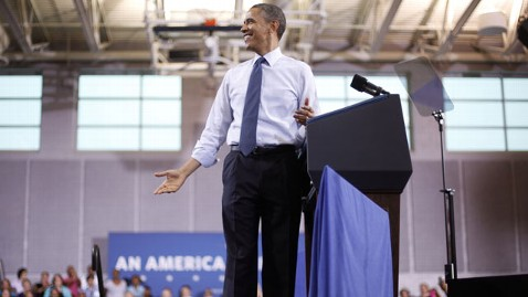 ap obama rallies lt 120505 wblog Obama Hits the Campaign Trail: 5 Things to Watch