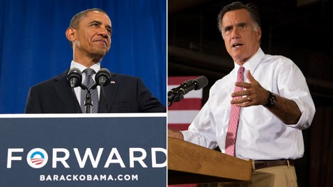 ap obama romney nt 120614 wblog Obama Gains a Convention Boost   But Not Among Likely Voters