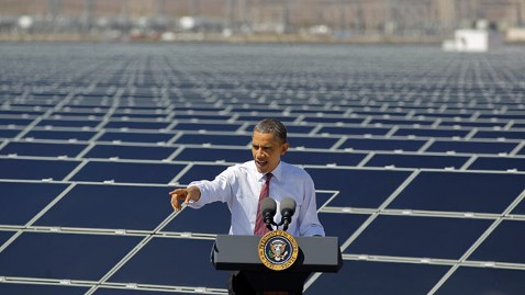 ap obama solar tk 120321 wblog Obama Singes Critics at US Solar Epicenter