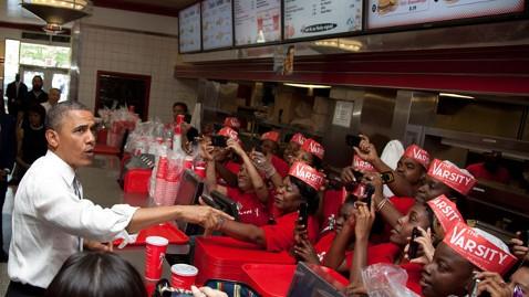 ap obama varsity restaurant nt 120626 wblog Obama Motorcade Stops at Worlds Largest Drive In