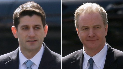 ap paul ryan chris van hollen lpl 130307 wblog Obama Invites Ryan, Van Hollen to Lunch
