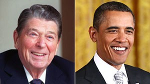 ap reagan obama 1 nt 110209 wblog White House Augments Presidential Bios With Obama Trivia