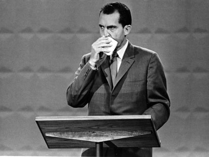 ap richard nixon jef 111110 main Great Debate Gaffes: From Nixon to Ford to Jan Brewer, Rick Perrys Oops Moment Not the First