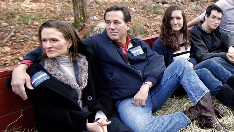 ap rick santorum family nt 120106 wblog The Santorums Grieving