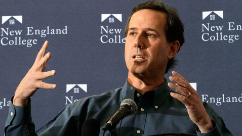 ap rick santorum jef 120105 wblog Democrats on Santorums Rise: Whatever