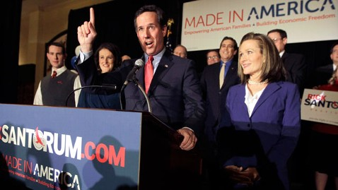 ap rick santorum winner thg 120207 wblog Rick Santorum Vows Not to Run for Pastor in Chief