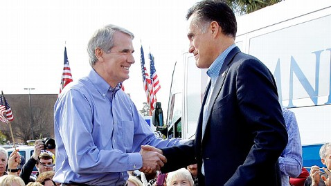 ap rob portman romney dm 120709 wblog Veep Beat: When Two Contenders Head to Boston