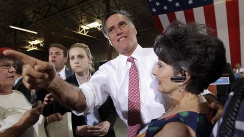 ap romney 120529 wblog Democrats Hit Mitt Romney for Comment on Teachers, First Responders