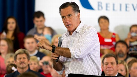 ap romney grand junction kb 120710 wblog Romney Hits Back, Calls Obama Outsourcer in Chief