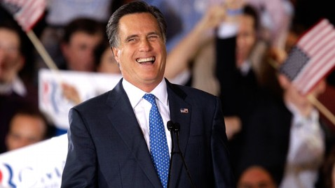 ap romney laughing nt 120306 wblog Super Tuesday See Saw Tilts Toward Romney (The Note)