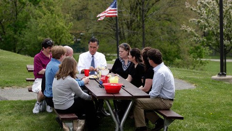 ap romney picnic thg 120419 wblog Romneys Comment Sparks CookieGate, Democrats Add It to Foot in Mouth List