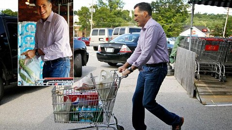 ap romney shopping ss w jp 120806 wblog Romney Runs Errands, Shopping List in Hand