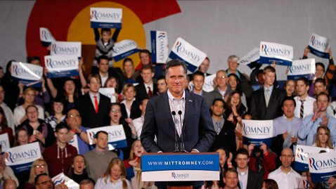 ap romney speech thg 120207 wblog Romney Is Rebuked With Losses in Minnesota, Missouri
