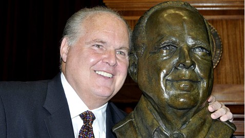 ap rush limbaugh bust famous missourians ll 120522 wblog Rush Limbaugh Bust Joins President, Slave, Indian Guide in Missouri Capitol