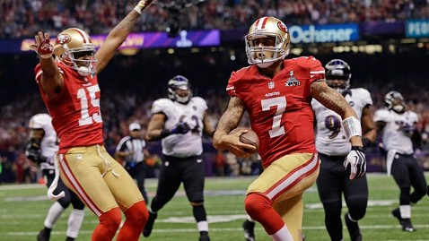 ap san francisco 49ers ll 130204 wblog Power Outage Led to San Francisco Super Bowl Surge? Not So Fast