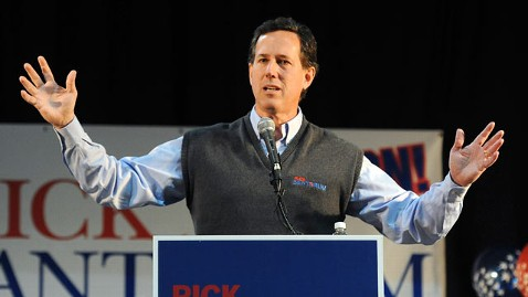 ap santorum colorado tk 120204 wblog Santorum Optimistic About Tuesday Contests, Ties Romney to Contraception Services