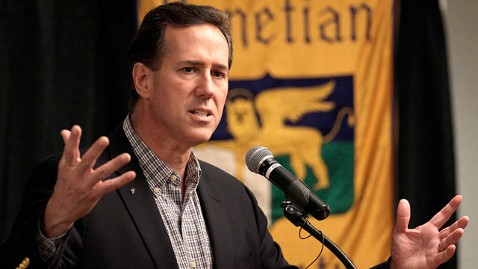 ap santorum illinois tk 120319 wblog Santorum Criticizes Obama For Daughter Malias Mexico Vacation