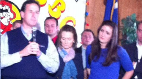 ap sarah maria now 2 nt 120120 wblog Sarah Maria Santorum, Famous for 2006 Crying Photo, Hits Campaign Trail