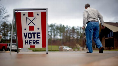 ap vote alabama tk 120313 wblog GOP Primary: Top 5 Need to Know Details About Tonights Contests in Miss., Ala., Hawaii