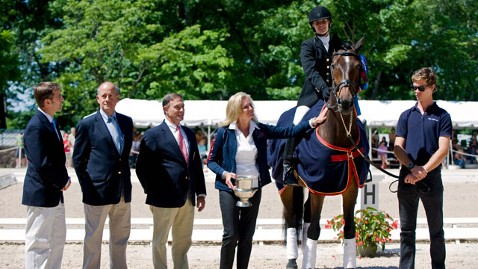 corbis ann romney horse olympics lpl 120708 wblog Romney Hoofs it in London