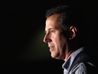 PHOTO: Republican presidential candidate, former U.S. Sen. Rick Santorum addresses military cadets at The Citadel military college, Jan. 20, 2012 in Charleston, S.C.