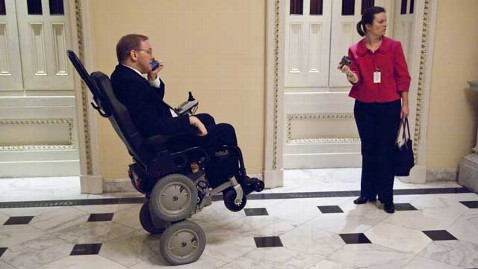 gty Jim Langevin rep wheelchair thg 130212 wblog Paralyzed Rep. to Showcase Gun Victims at State of the Union