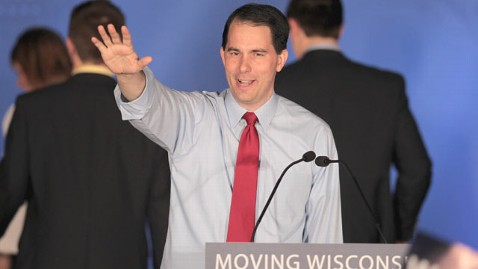 gty Scott walker thg 120606 wblog Biggest Applause So Far Tonight Goes to Wisconsin Gov. Scott Walker
